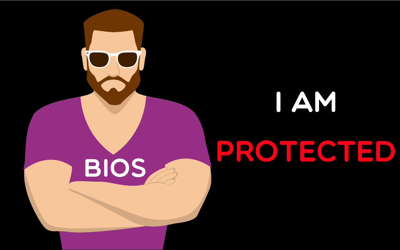tails can't protect bios